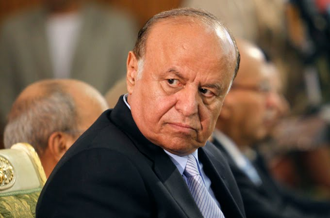 Field Marshal Abdo Rabbuh Mansur Al-Hadi, President, Yemen