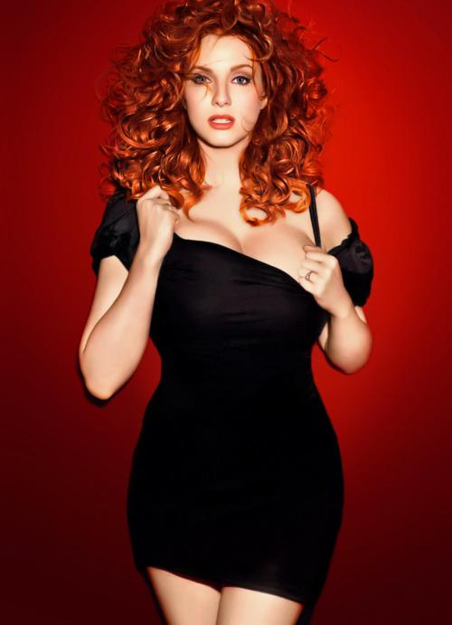 Si Marilyn Monroe fuera colorada se llamaría Christina Hendricks