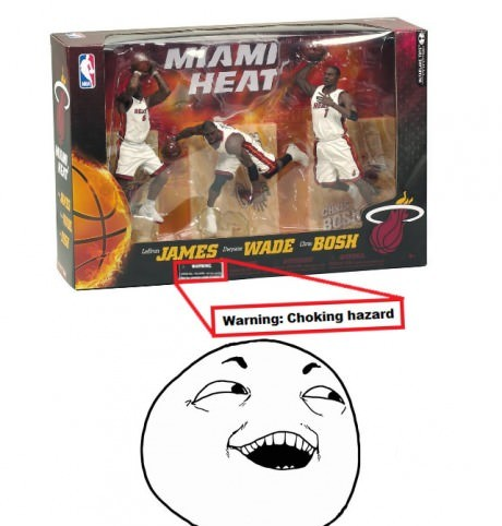 Lebron James Choking Hazard