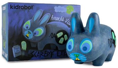 Scaredy Labbit Vinyl Figure by Amanda Visell x Kidrobot