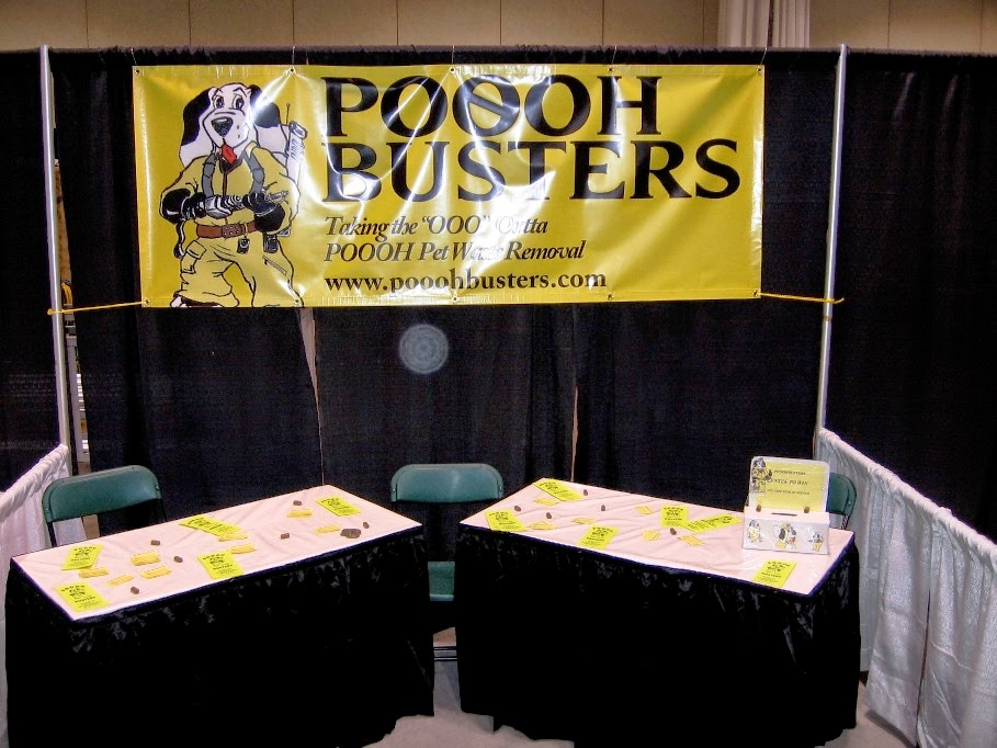 Poooh Busters Calgary Pet Expo Booth 2006