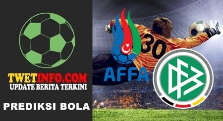 Prediksi Score Azerbaijan U21 vs Germany U21 08-09-2015
