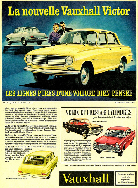 Old Cars Canada 1968 Vauxhall