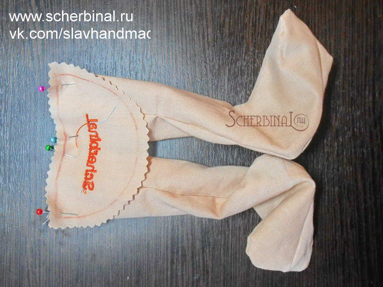 выкройка текстильной куклы-карамельки Людмилы Щербина, мастер-класс