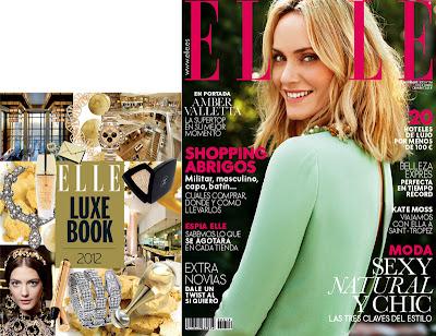 Elle Te Regala Con Su Revista De Noviembre 2012 Su Suplemente Elle Deluxe