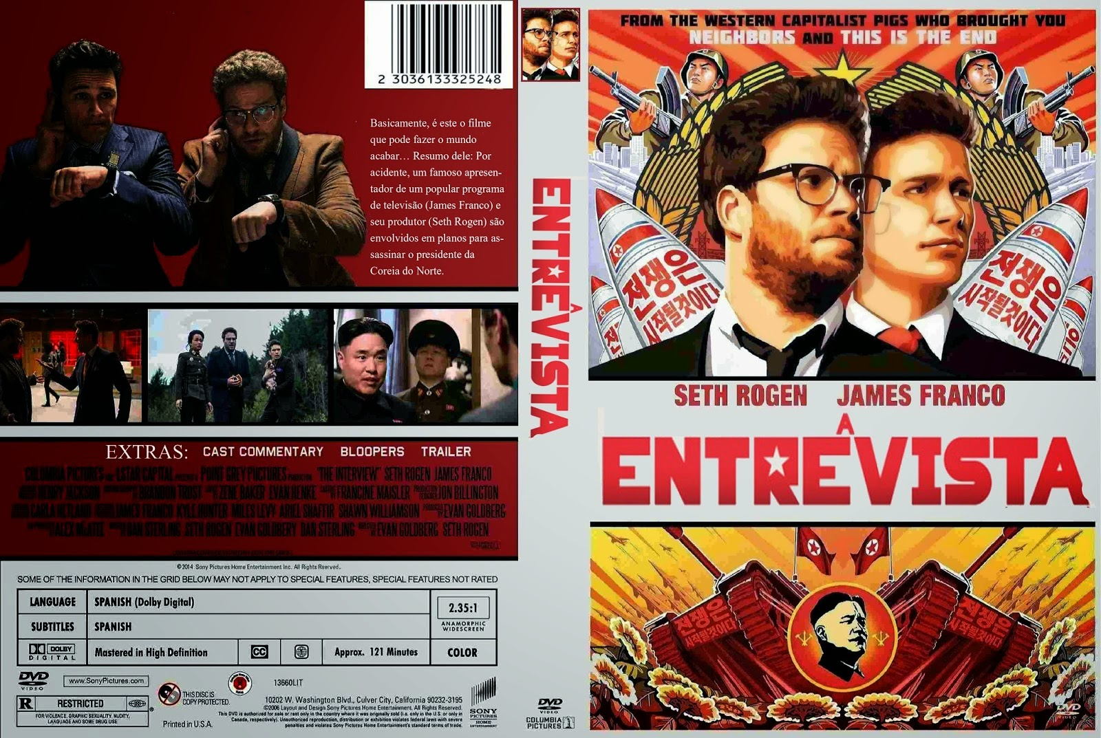 Download A Entrevista BDRip XviD Dual Áudio A 2BEntrevista 2B 2014