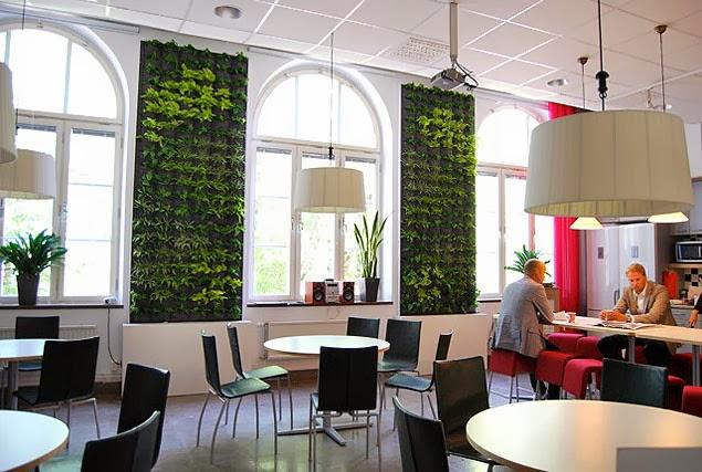 Paredes verdes decoraci n ecol gica ideas eco - Trabajos de decoracion de interiores ...