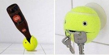 Progetto milleusi con il riciclo creativo palline da tennis