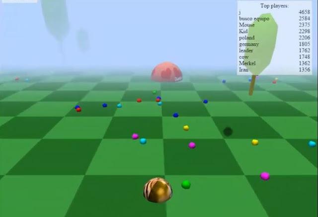 Gioco online di abilità e logica: Agario 3D