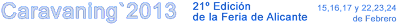 header blue 2013 - EN VALENCIA: Caravaning 2013, en Alicante