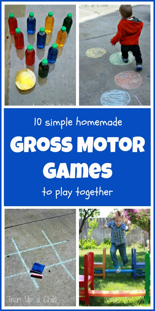 Gross motor games 100 days of play learn play imagine for Outdoor gross motor activities for preschoolers