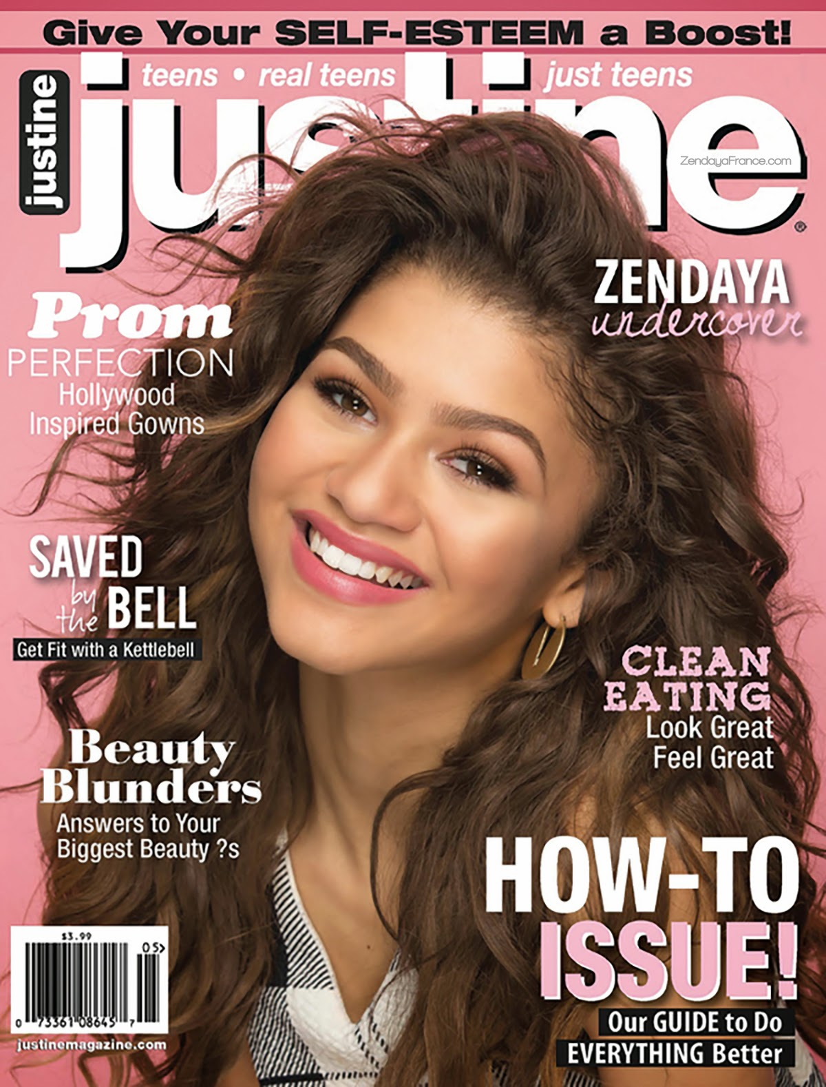 Actress, Singer, Dancer, Model @ Zendaya - Justine Magazine, AprilMay 2015