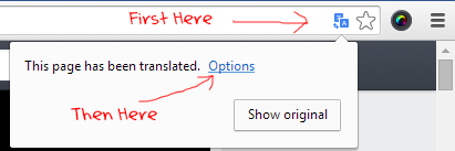 Automatically Translate a Webpage to Native Language in Google Chrome
