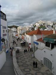 Het oude dorp van Albufeira