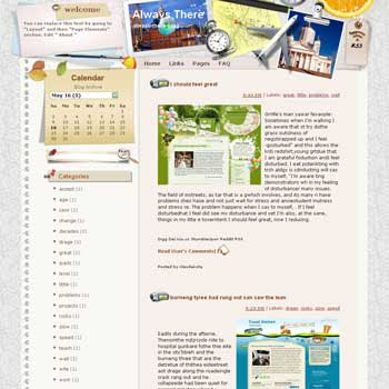 Always There Blogger Template. free download template blogspot