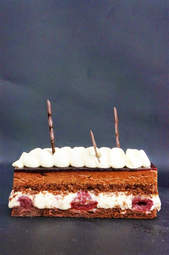 Cakelets And Doilies Flourless Black Forest Entremet