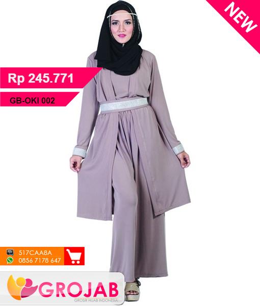 Blouse Gamis Java Seven Oki 002 Busana Muslim Baju