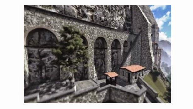 Η Παναγία Σουμελά στην Τραπεζούντα σε 3D!