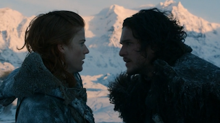 Jon nieve e Yigritte