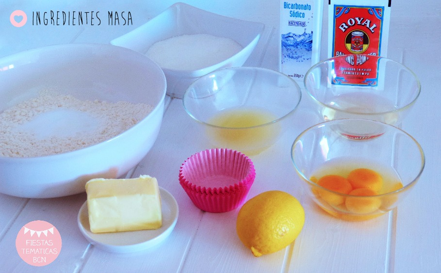 ingredientes cupcakes merengue