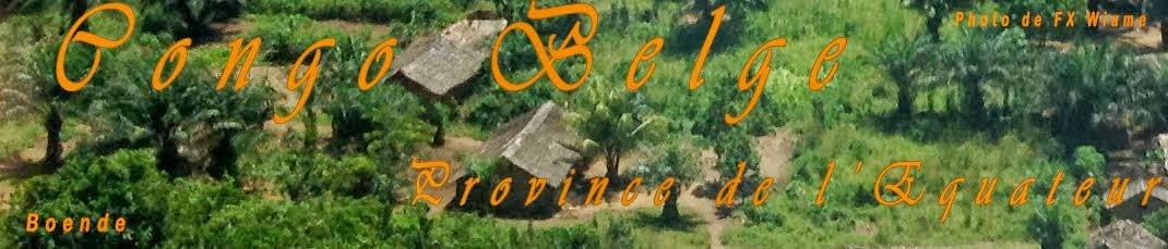 Congo Belge - Province de l'Equateur