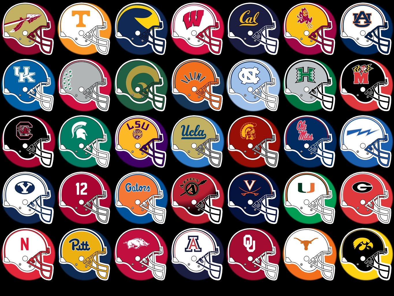 ncaa football schedules division 1 football mascots