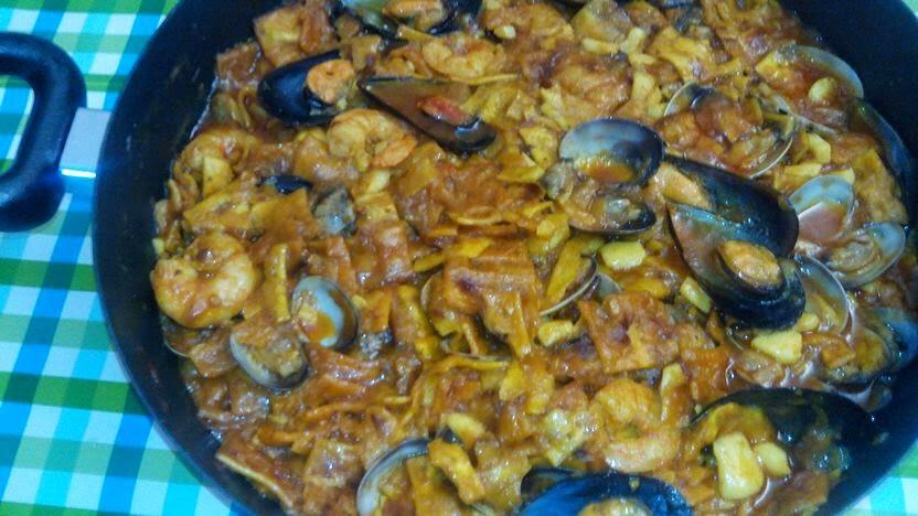 Gazpacho de marisco