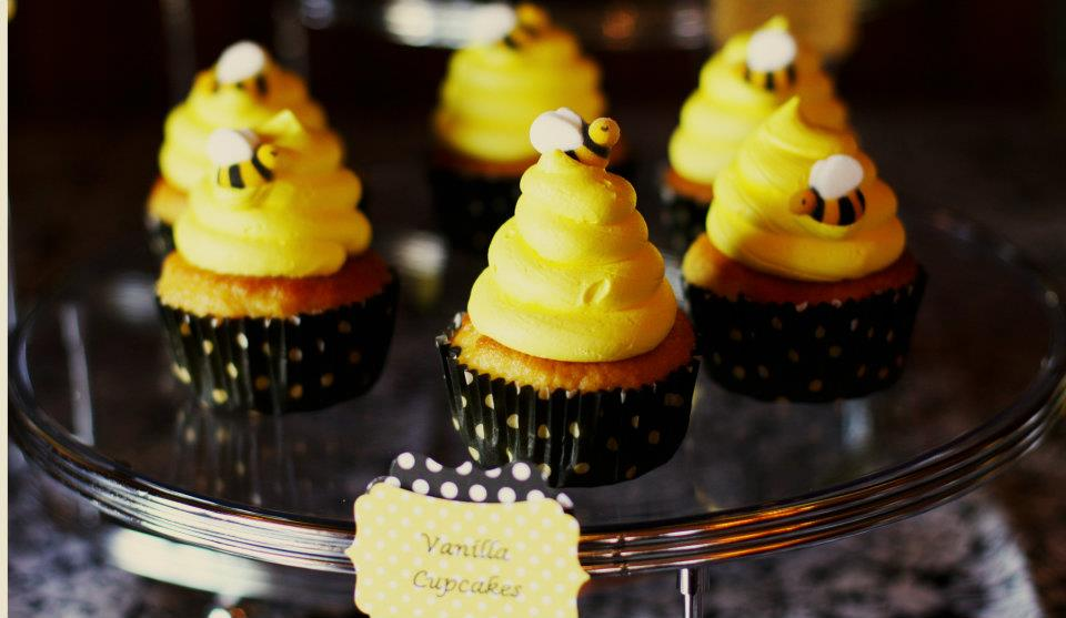 baby bee themed baby shower