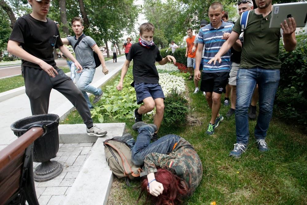 Russia's shame