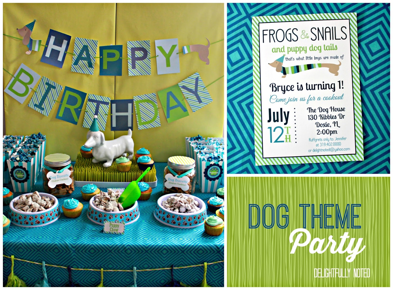 Puppy Dog Birthday Party Ideas