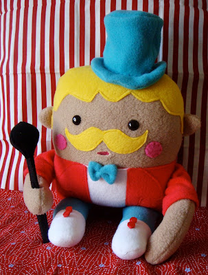 Plush Christopher the Ringmaster