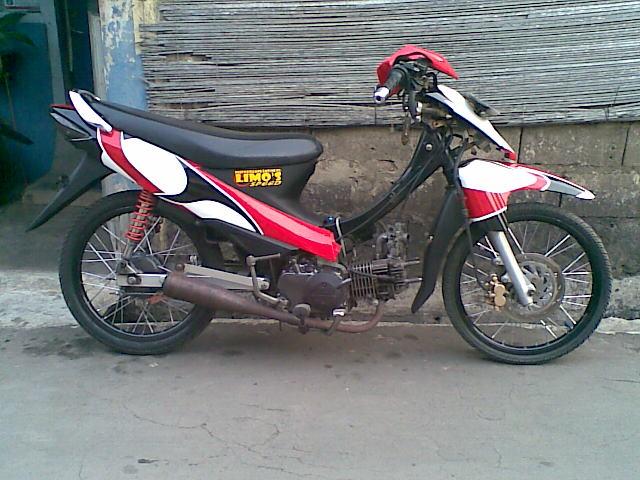 shogun drag bike modif