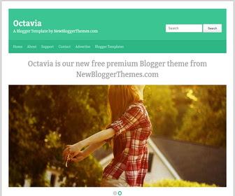Octavia Blogger Template