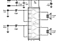 lm377 power amplifier schematic electronic circuit rh elcircuit com