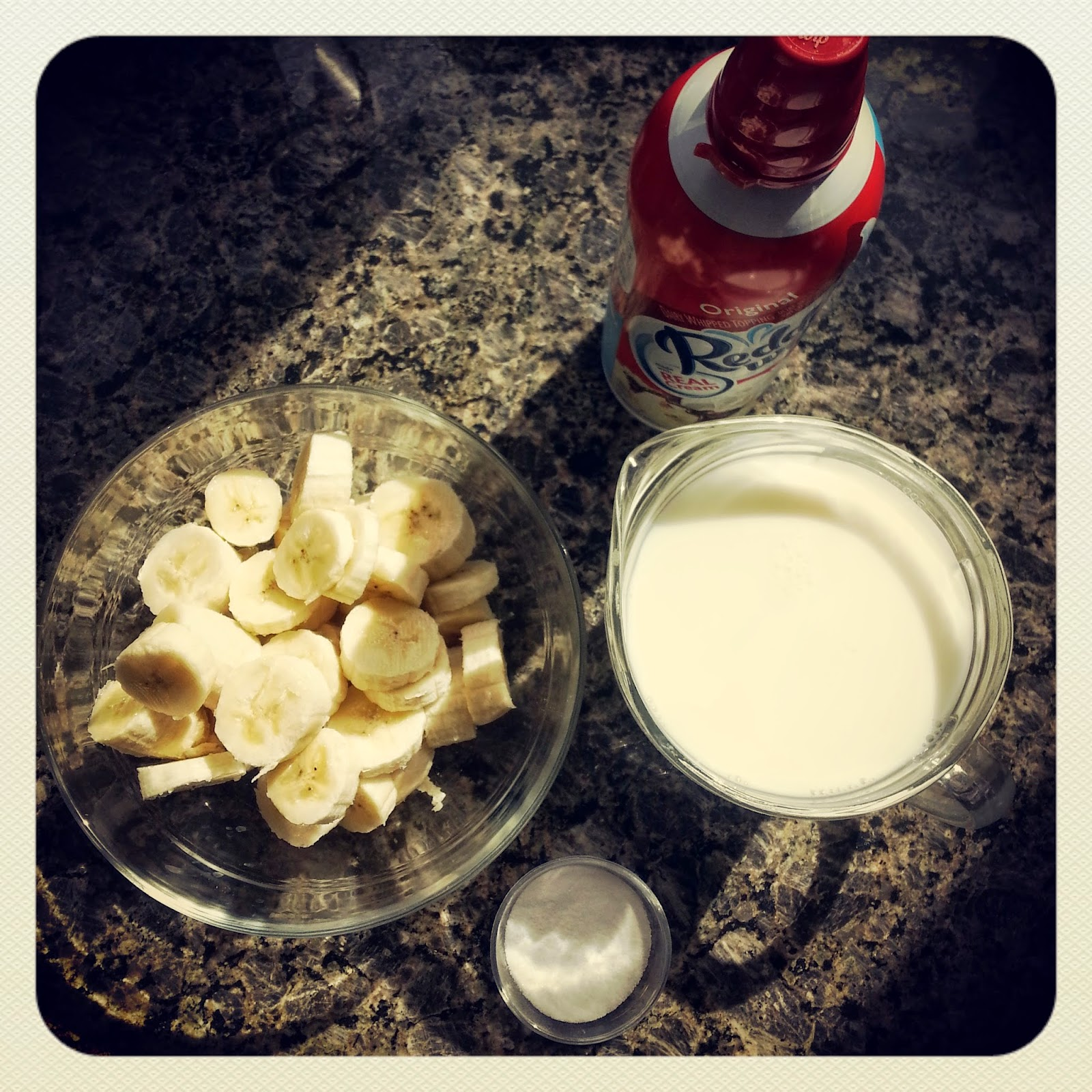 Receta au pair: Banana smoothie