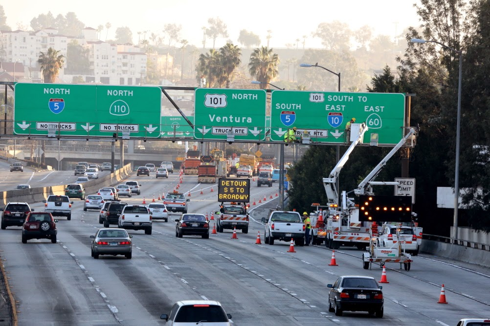 East Los Angeles Interchange I 5 I 10 Sr 60 And Us 101 Closures For Swarm Maintenance Caltrans District 7