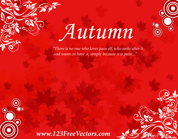 Autumn PowerPoint Templates Indezine com