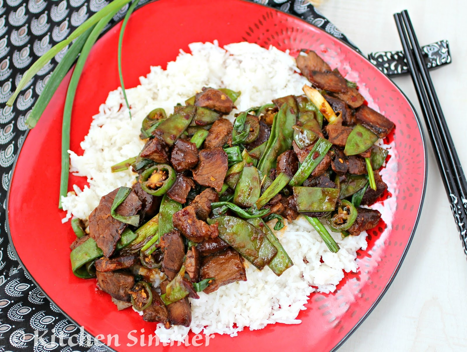 pictures Beef and Scallion Stir-Fry