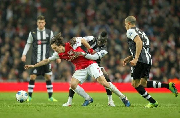 PREVIEW Pertandingan Arsenal vs Newcastle 29 April 2014 Dini Hari