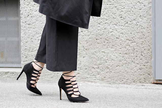 all black minimal fashion
