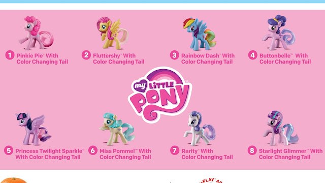 Happy Meal Toys MLP February 2016 Buttonbelle Starlight Glimmer Coco Pommel