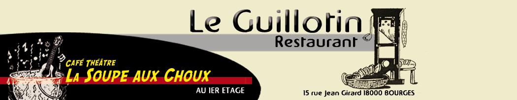 Le guillotin - Café théâtre la Soupe aux Choux