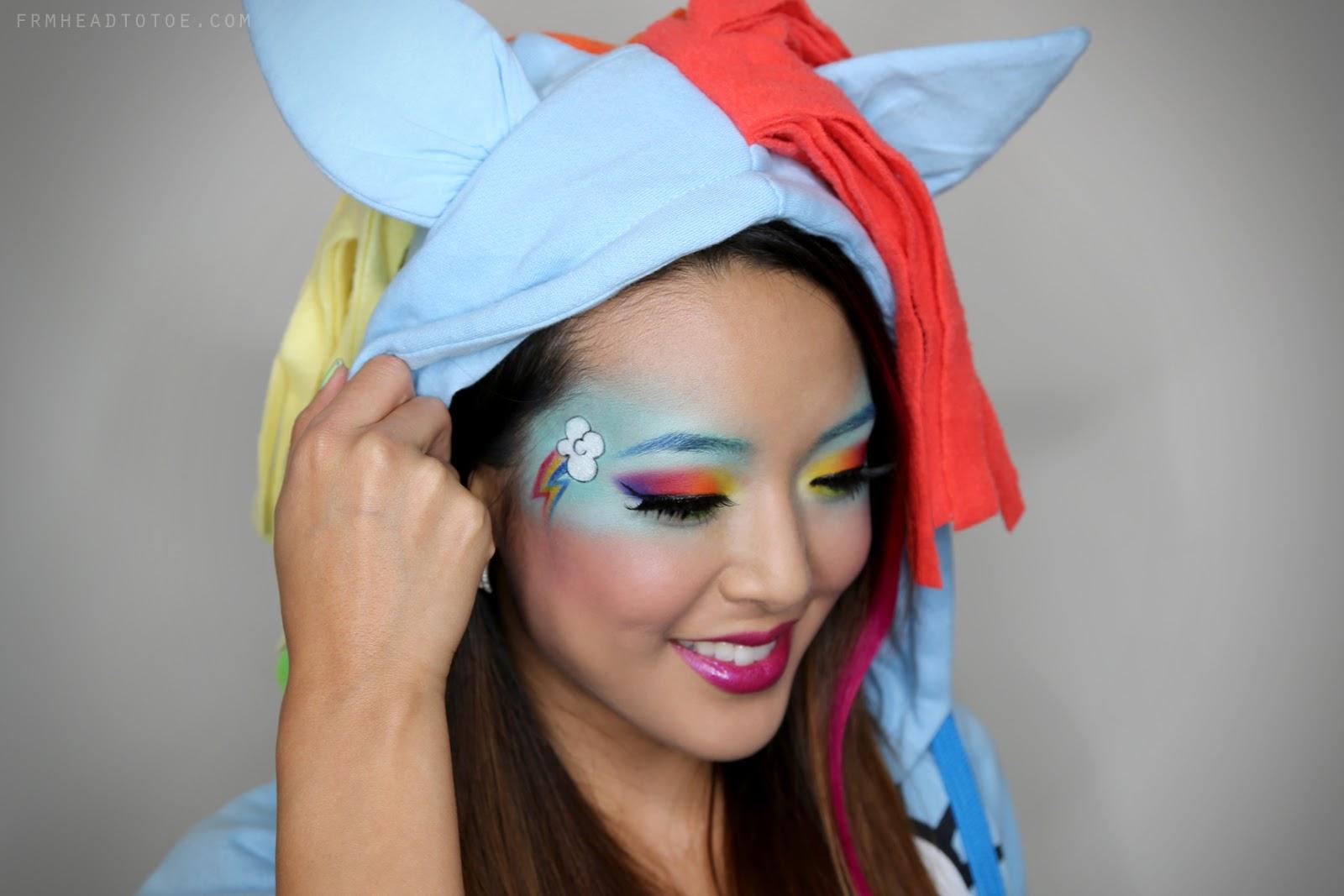 My Blog Verwandt Mit Lightning: My Little Ponies ?Rainbow Dash? Makeup Tutorial