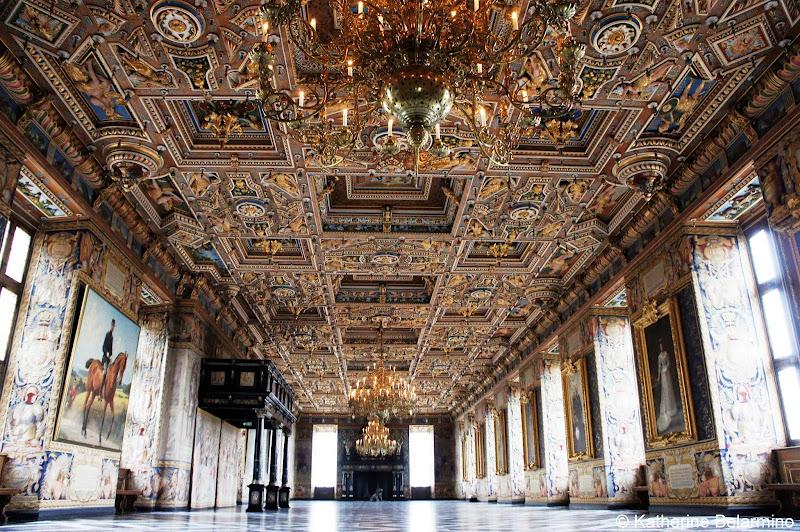 Great Hall Frederiksborg Castle Hillerød Denmark