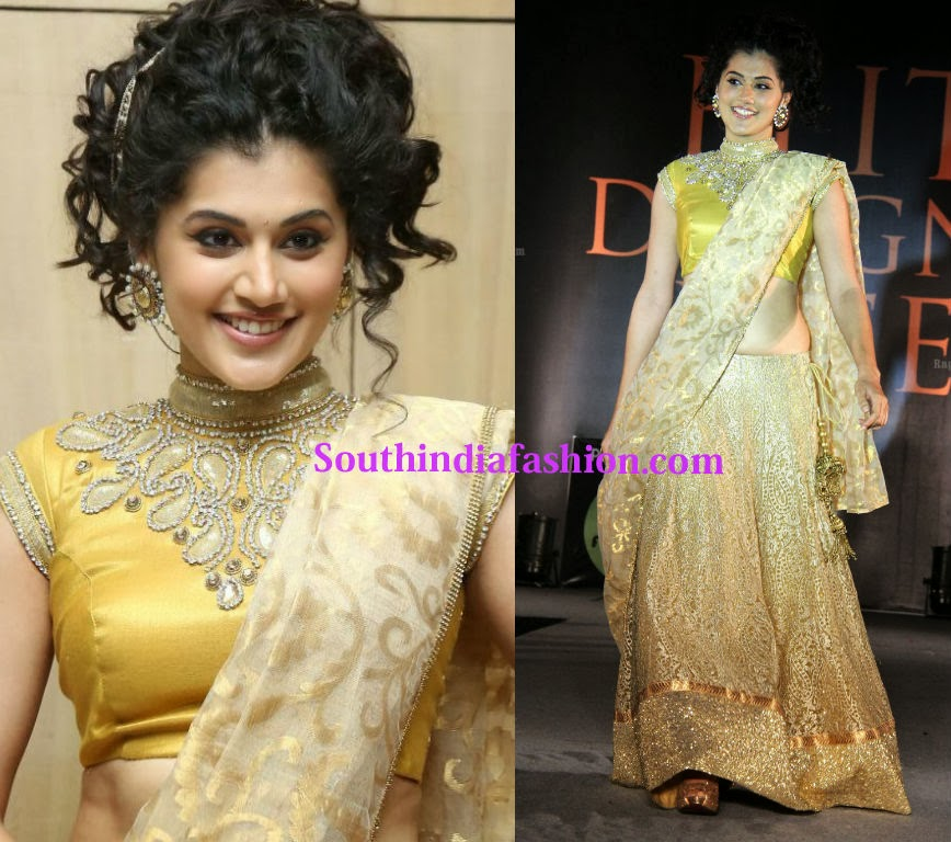 Taapsee at elite designer week 2014