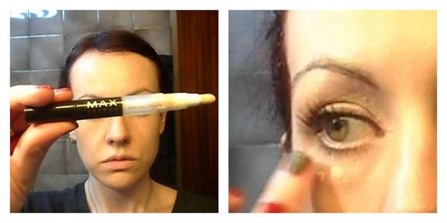 Maquillaje con la paleta Moonstone