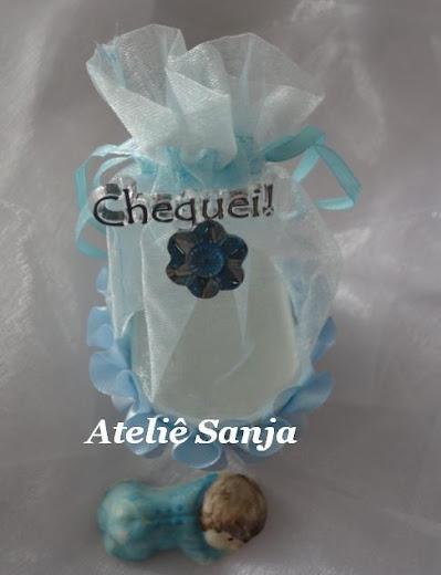 Carrinho de bebê - azul