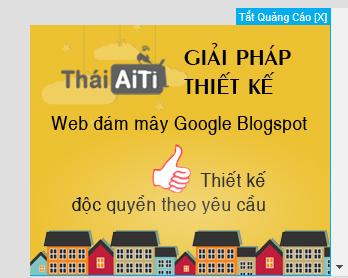 Code Đặt quảng cáo cố định góc phải màn hình cho Web, Blogspot