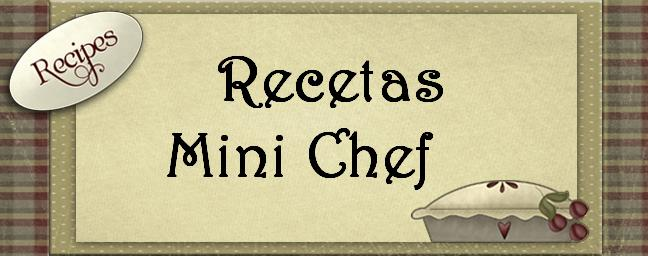 Recetas Minichef
