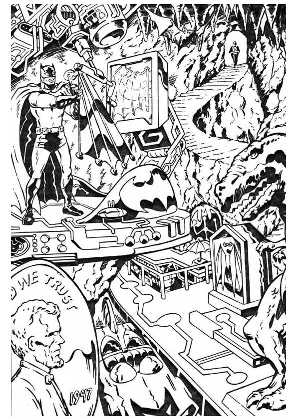 Best Superhero Coloring Books - Superhero Coloring Pages